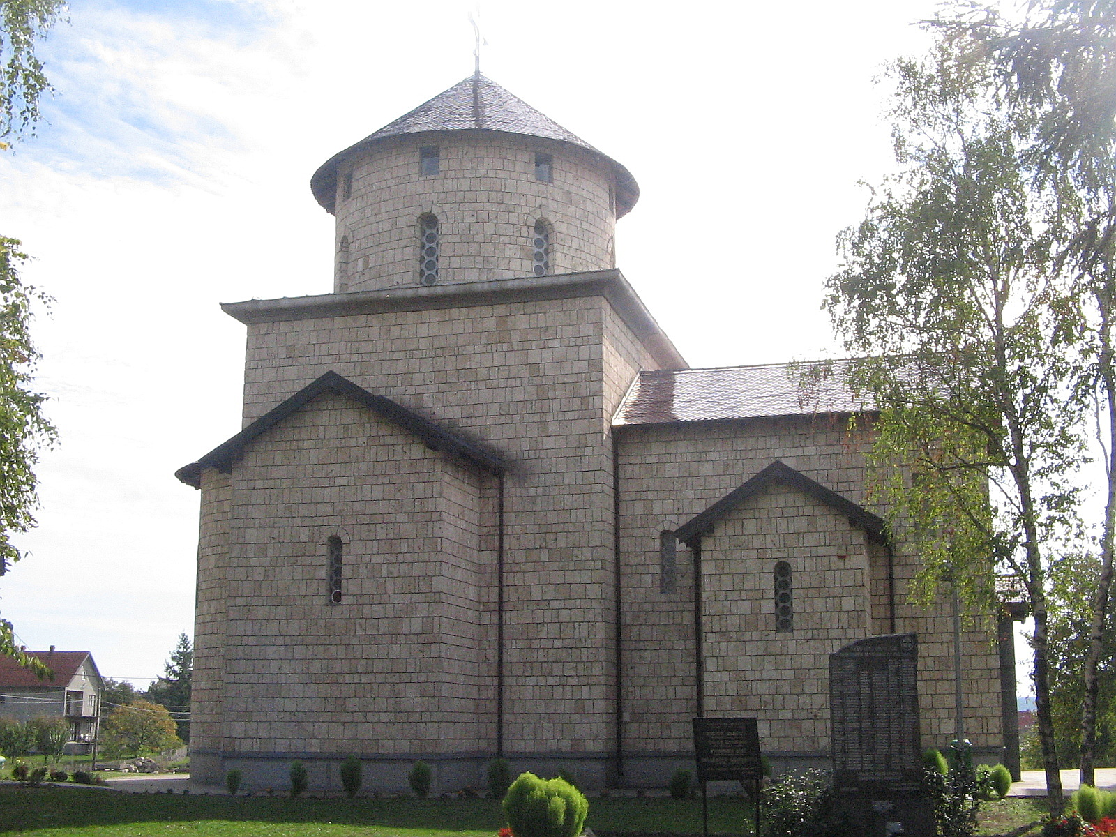 Church in the Pinosava, one of the Belgrade`s settlement