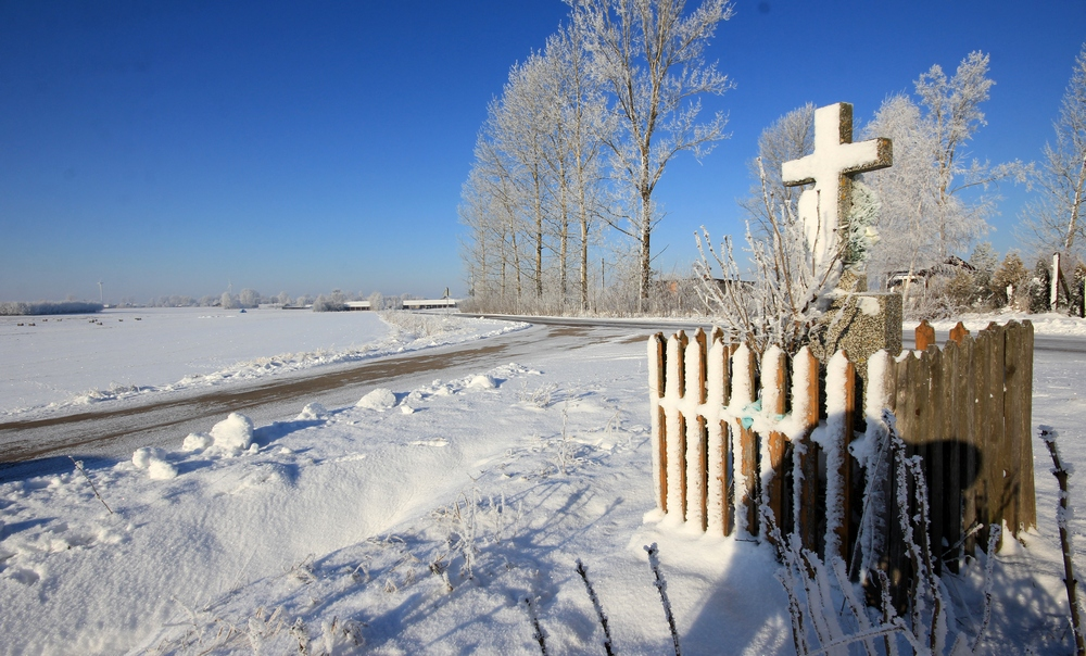A winter close to Morze village