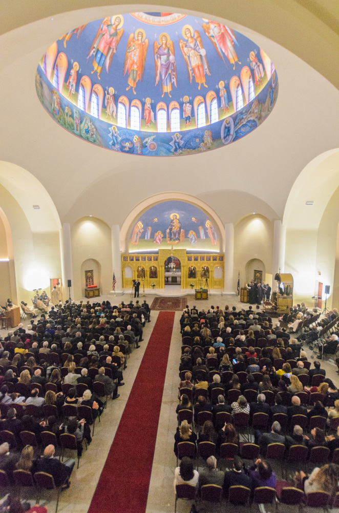 Vespers at Sts Constantine and Helen Greek Orthodox Church