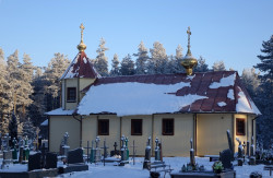 jarek1  The Orthodox cementary church in Tyniewicze Małe  2017-11-13 00:21:21
