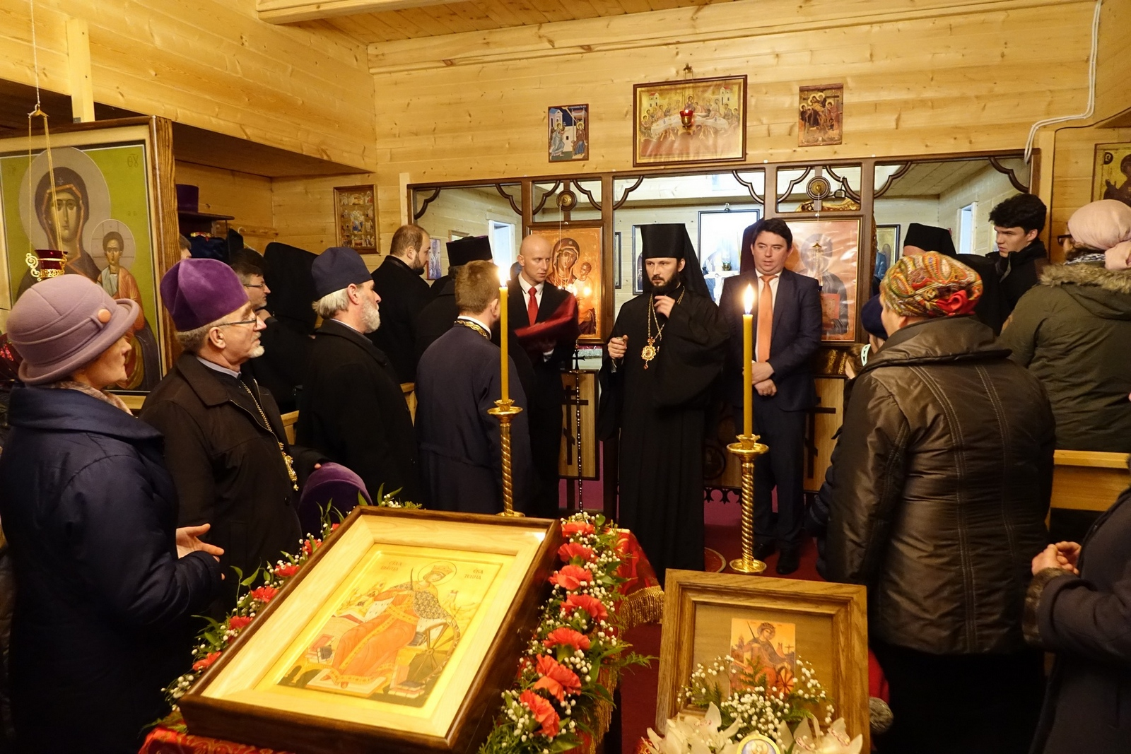 All-Night Vigil of St. Catherine feast in Zaleszany Convent