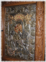 PedjaVid  Icon of the Most Holy Virgin called Aksion est  2017-12-04 21:00:24