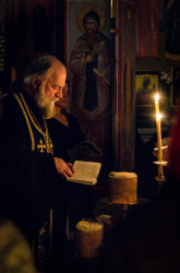 Vlutes   Vigil for the Entrance of the Theotokos into the Temple.
