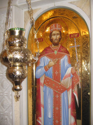 PedjaVid  Icon of Saint Prince Lazar in the Gilded  2018-01-28 19:53:35