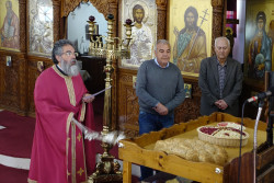 jarek1  The prayer for departed in St. Savva Orthodox church in Larnaca  2018-03-18 12:24:31