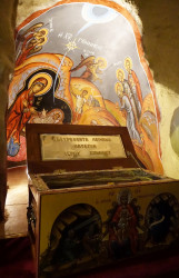 jarek1  Holy relics in Chrisospiliotissa Mother of God monastery  2018-03-29 11:33:29