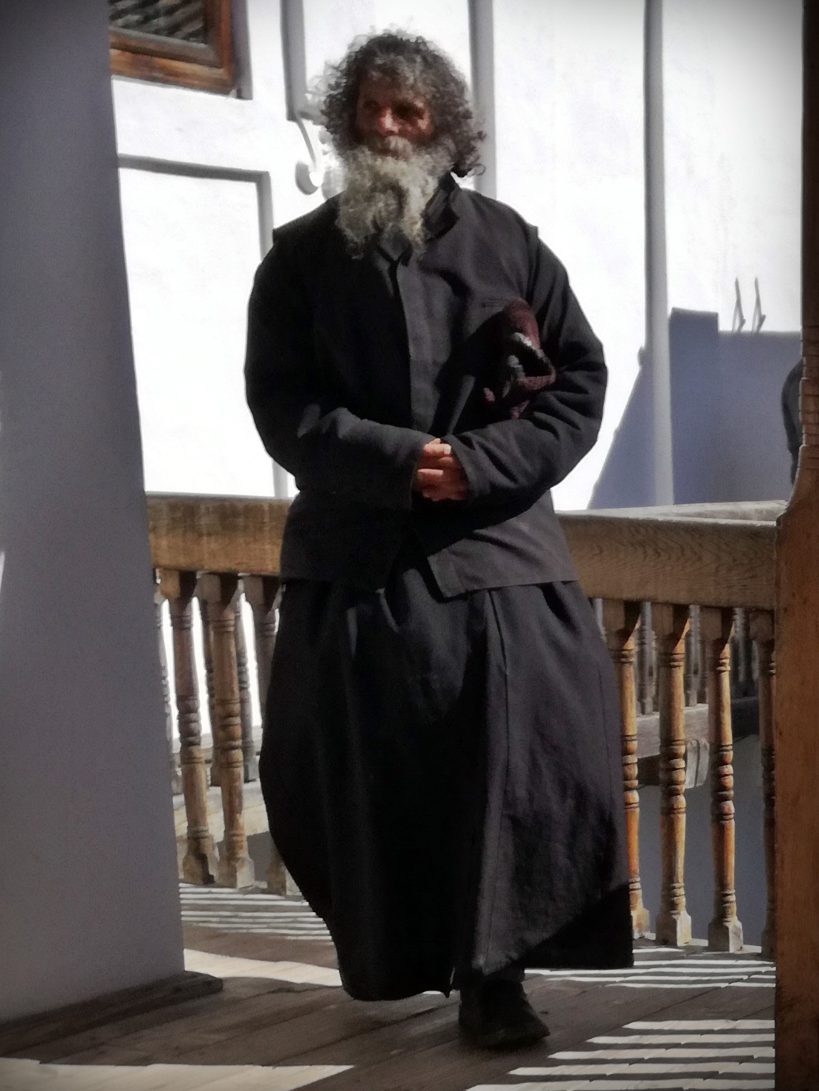 Monk from the Secu Monastery, Neamt County