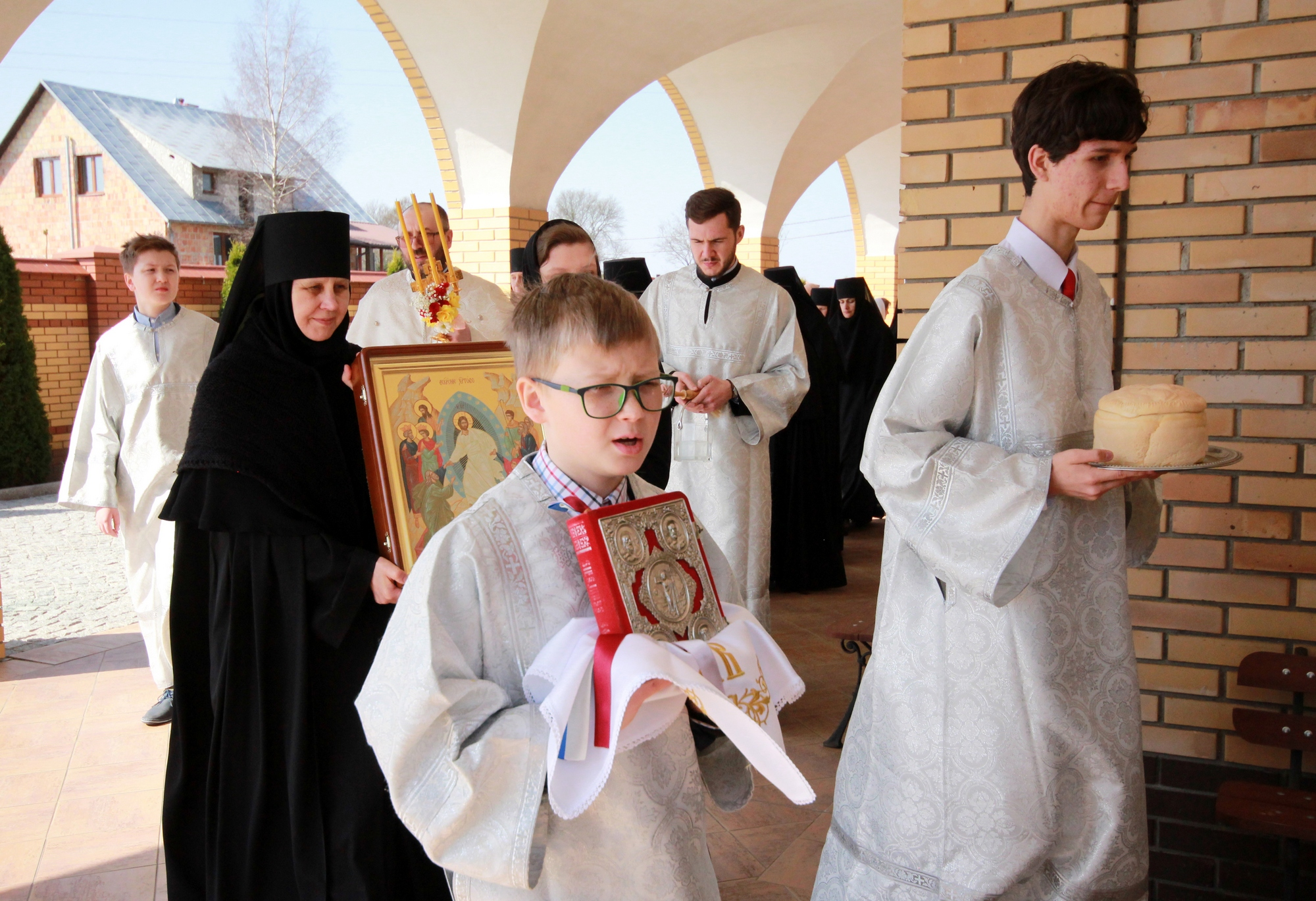Easter in Zwierki Convent