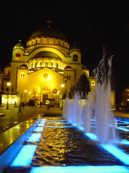 PedjaVid  St. Sava Temple at night  2018-04-13 22:31:01