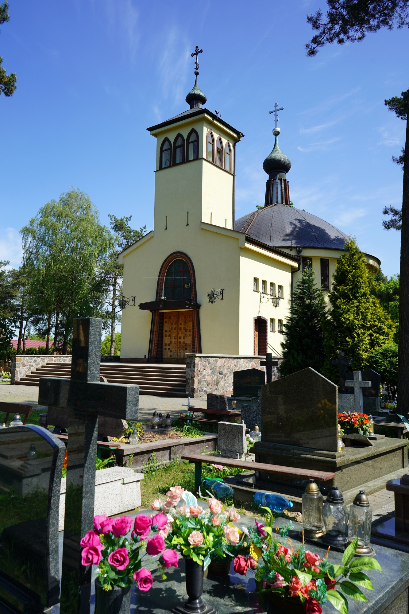 The Dormation Orthodox church in Bialystok