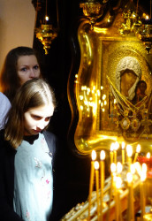 jarek1  St. Thomas the Apostle Sunday in St. John Climacus church in Warsaw  2018-05-06 08:06:21