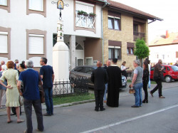 Подунавац  The Orthodox Votive Cross dedicated to St. Mark in Osijek   2018-05-08 21:40:57