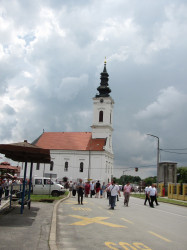 Подунавац  Cathedral church of Holy Great Martyr Demetrius in Dalj, Croatia.  2018-06-12 18:36:08