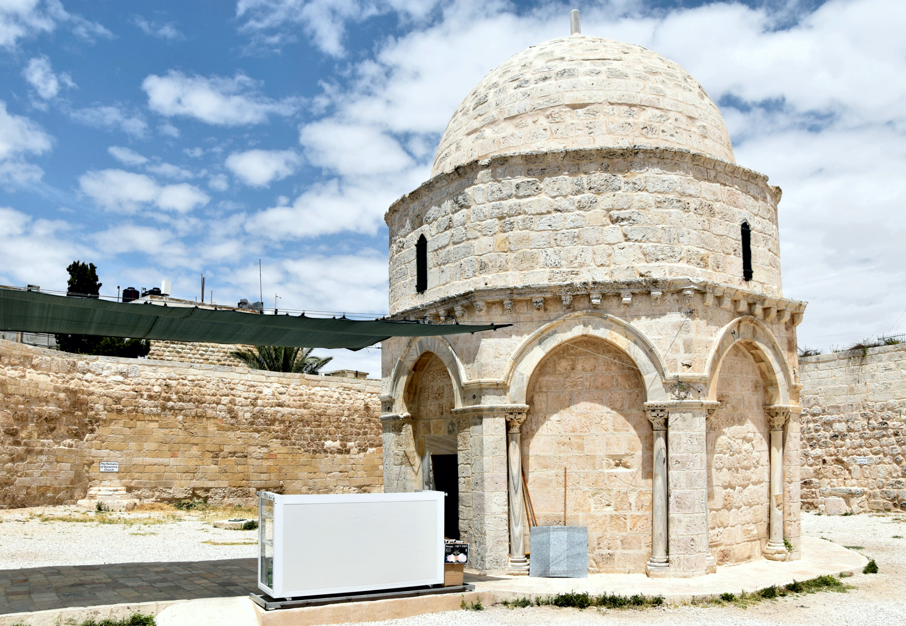 chapel on the place of the Ascension - Mount of Olives, Jerusalem