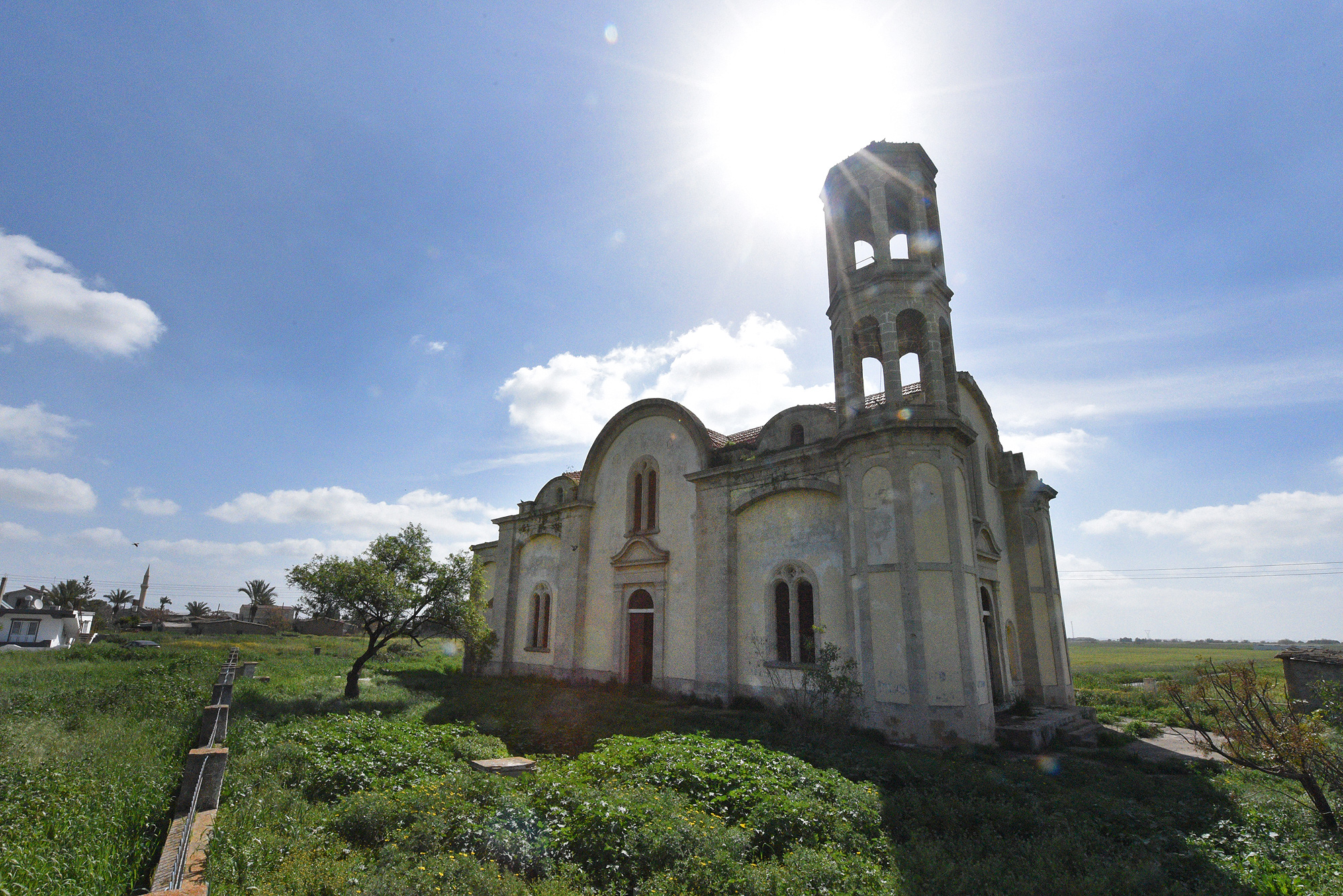 The Church of Profitis Ilias in the occupied village of Stylloi