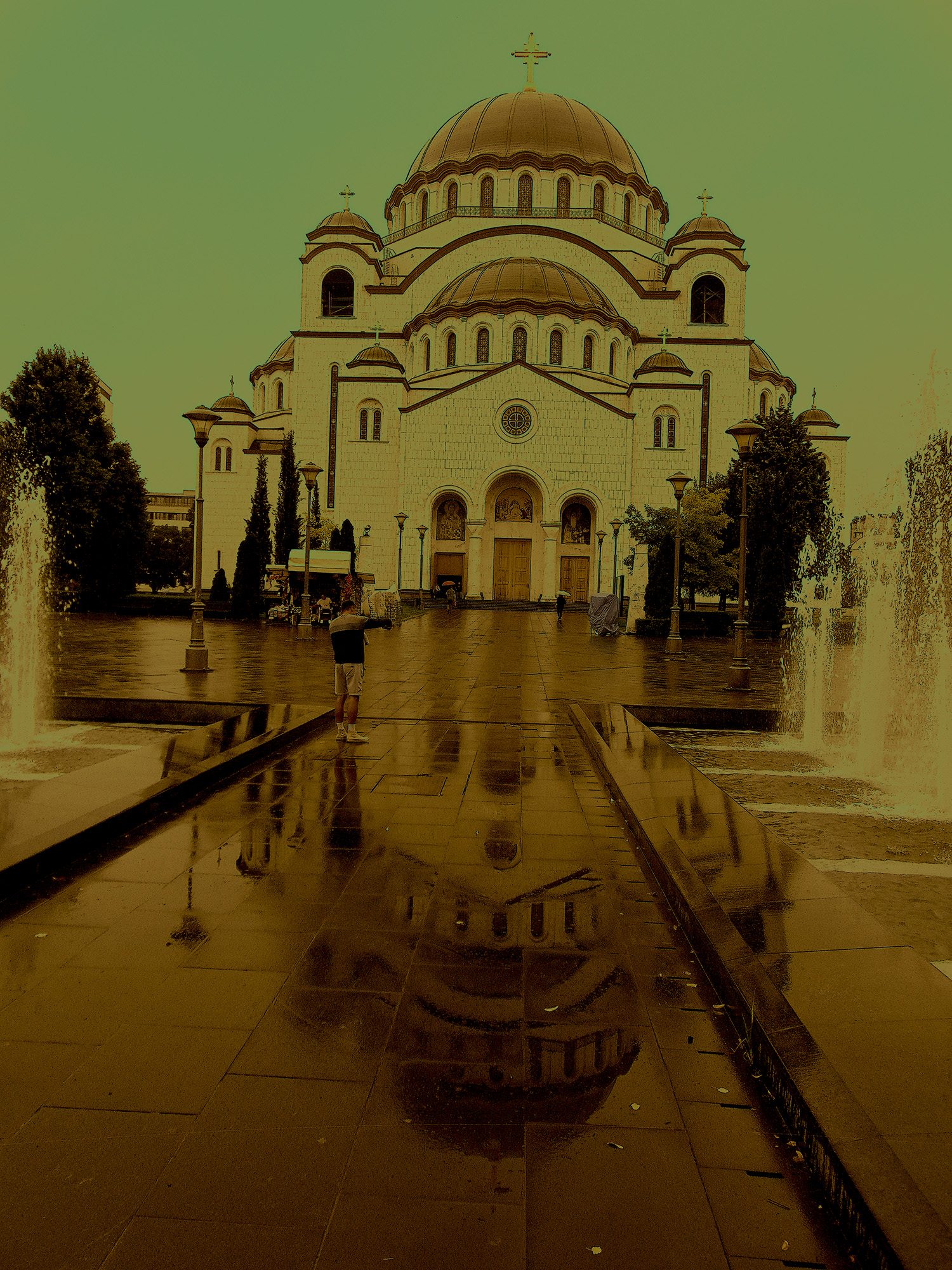 Temple of Saint Sava in Belgrade