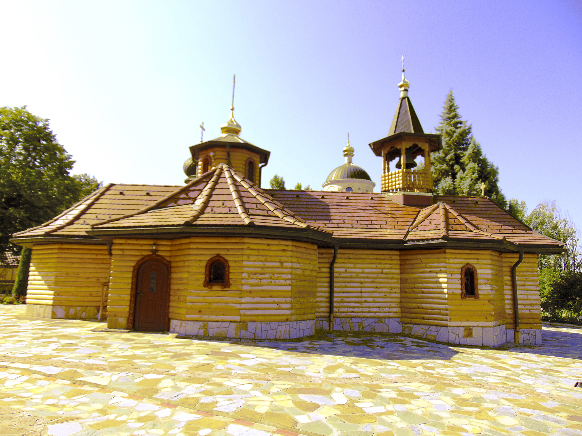 Church of the Holy Theotokos in Lešje monastery