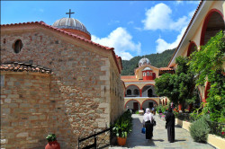 ursiy  Monastery of Saint David - Evia Island, before the canonization of the saint Iacov Tsalikis  2018-08-01 22:28:19