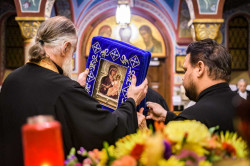 Vlutes  Vigil for the Beheading of St. John the Baptist with the Hawaiian Iveron Icon  2018-10-02 22:18:16