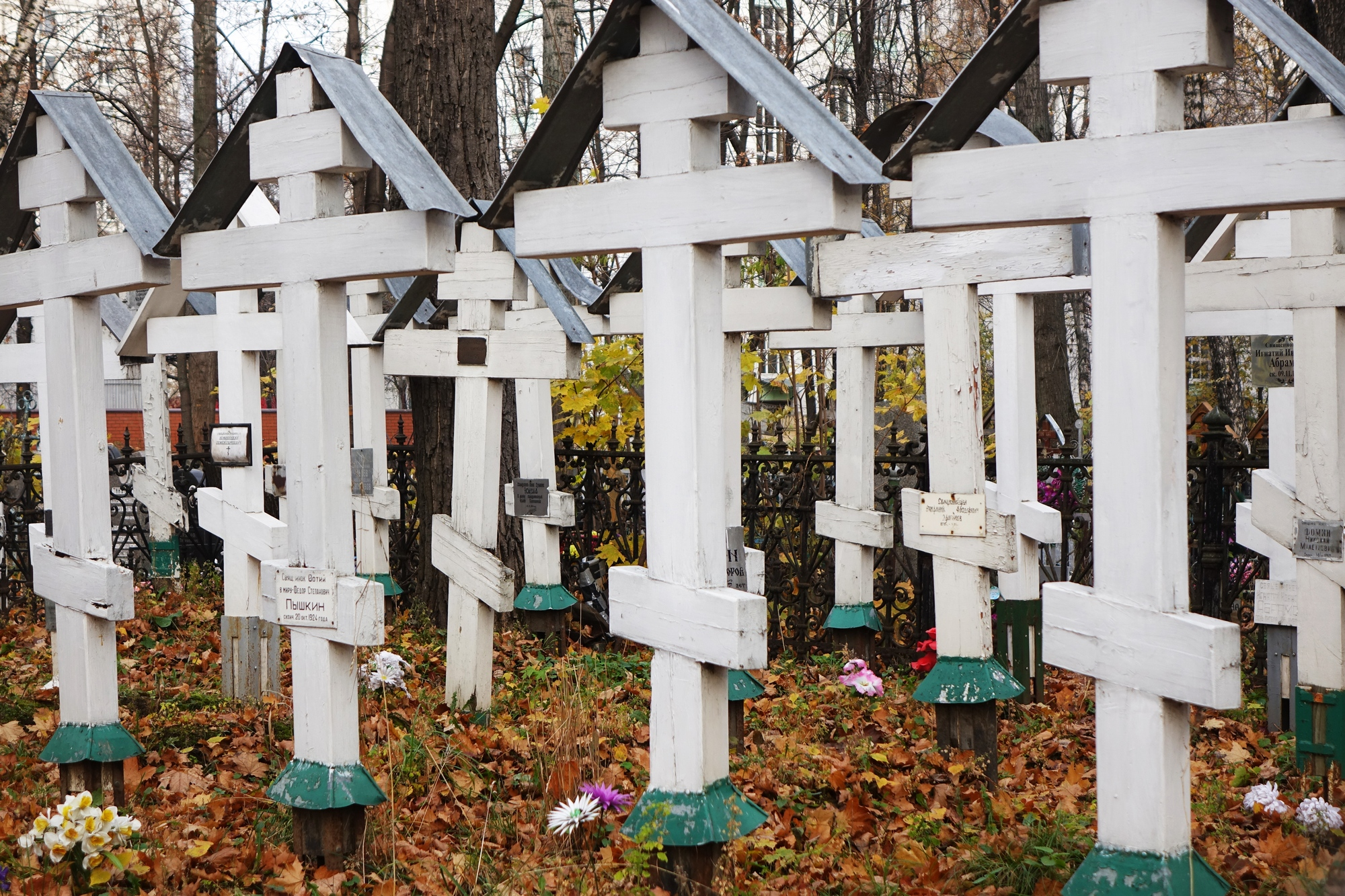 The Old-Believers cementary in Moscow-Rogozskoje