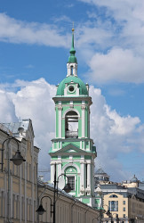 DmitryIvanov  The bell tower of the Church of the Beheading of John the Baptist in Moscow  2018-11-06 08:53:47