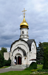 DmitryIvanov   Moscow. The church of the Saint Basil the Great at the VDNKh.