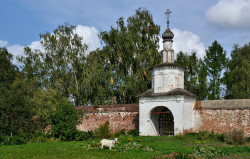 DmitryIvanov  The Trinity Gate of the Rizopolozhensky Convent in Suzdal  2018-11-25 20:55:16
