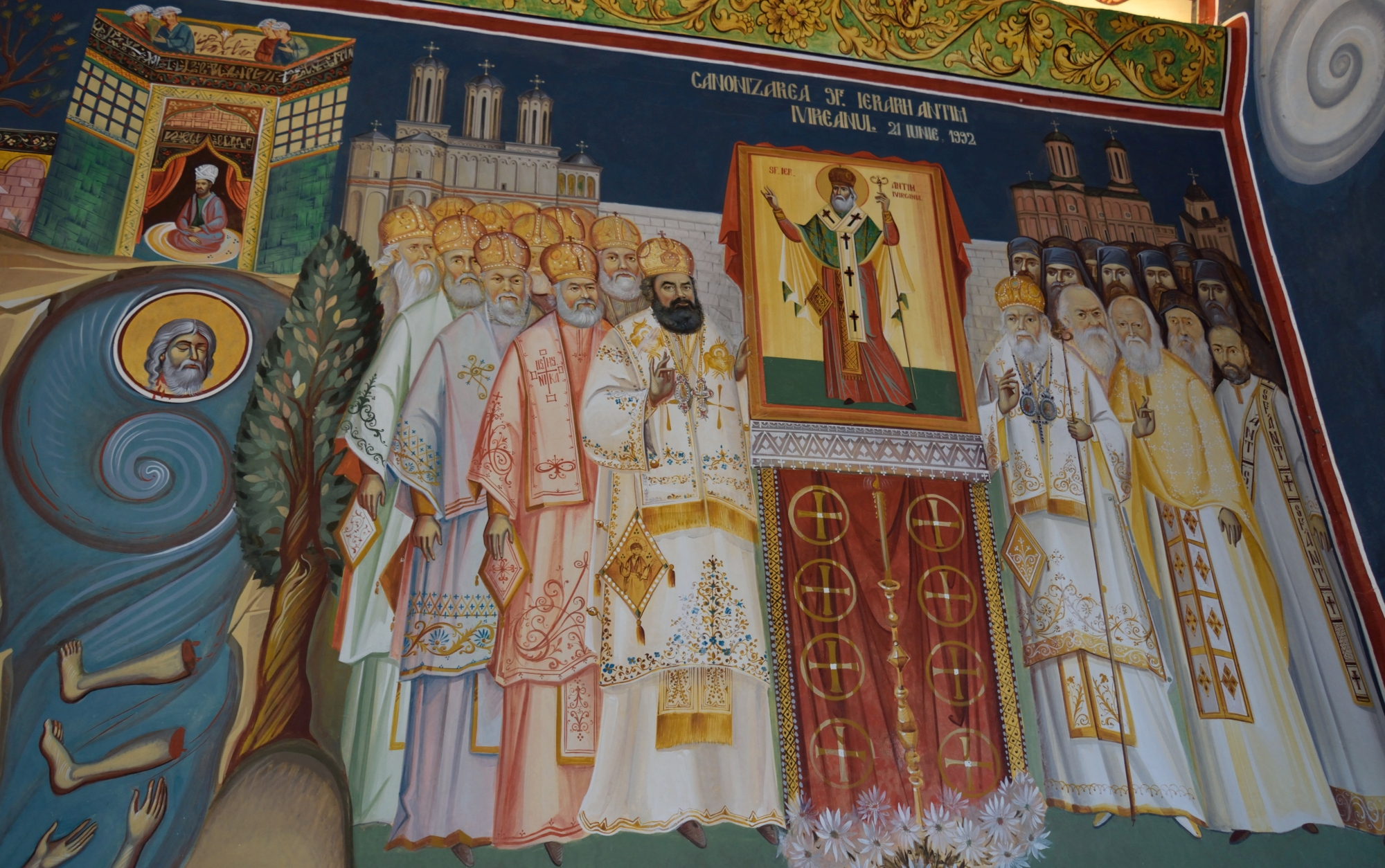 Martyrdom and canonisation of st. Antim