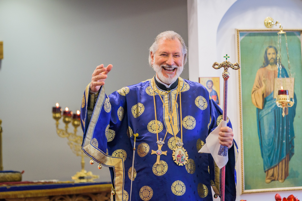 Hierarchical Divine Liturgy with His Grace, Bishop Irinej