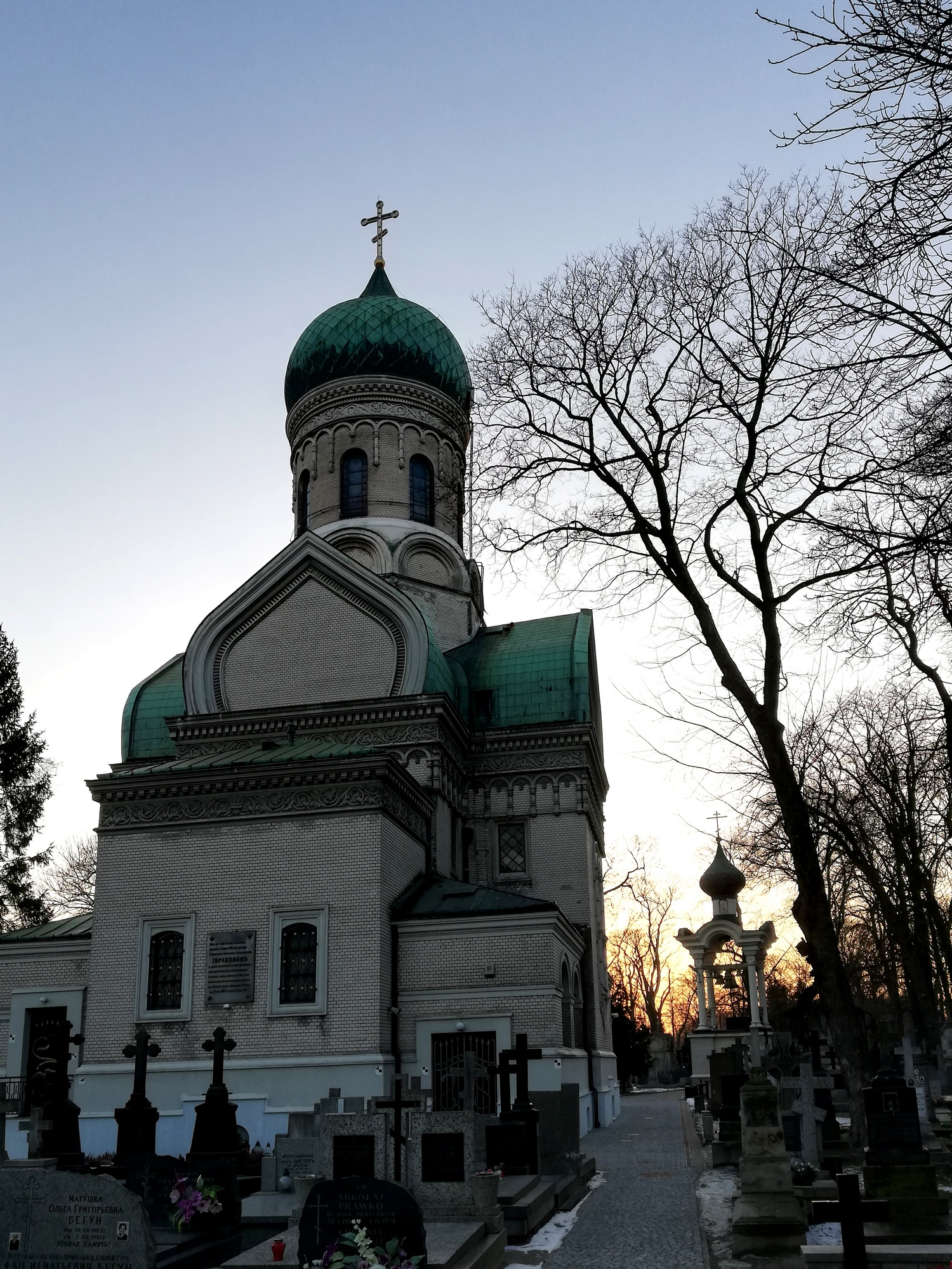 St. John the Climacus Orthodox church in Warsaw