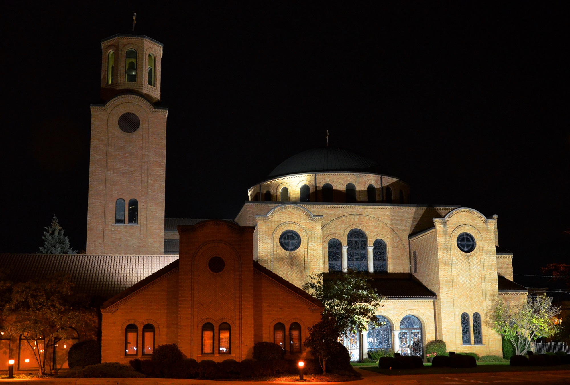 The Annunciation Greek Orthodox Cathedral in Columbus, Ohio, USA