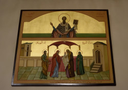 Sheep1389  Icon of st. Basil and the Lord&#039s Entrance into the temple  0  2019-02-02 10:39:42