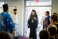 Vlutes  Hierarchical Divine Liturgy with His Grace, Bishop Irinej  2019-02-08 09:07:34