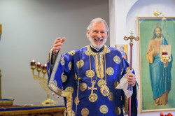 Vlutes  Hierarchical Divine Liturgy with His Grace, Bishop Irinej  2019-02-08 09:08:44