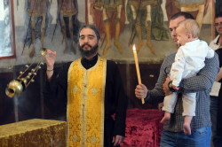 alik  Baptism at the Bachkovo Monastery Dormition of the Holy Mother of God  2019-02-17 22:16:56