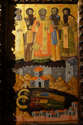 jarek11   Sedmichislenniki icon in Dormition church in Berat Castle