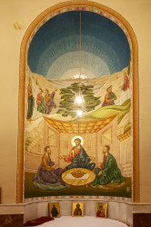 jarek11   In presbytery of Tirana Cathedral