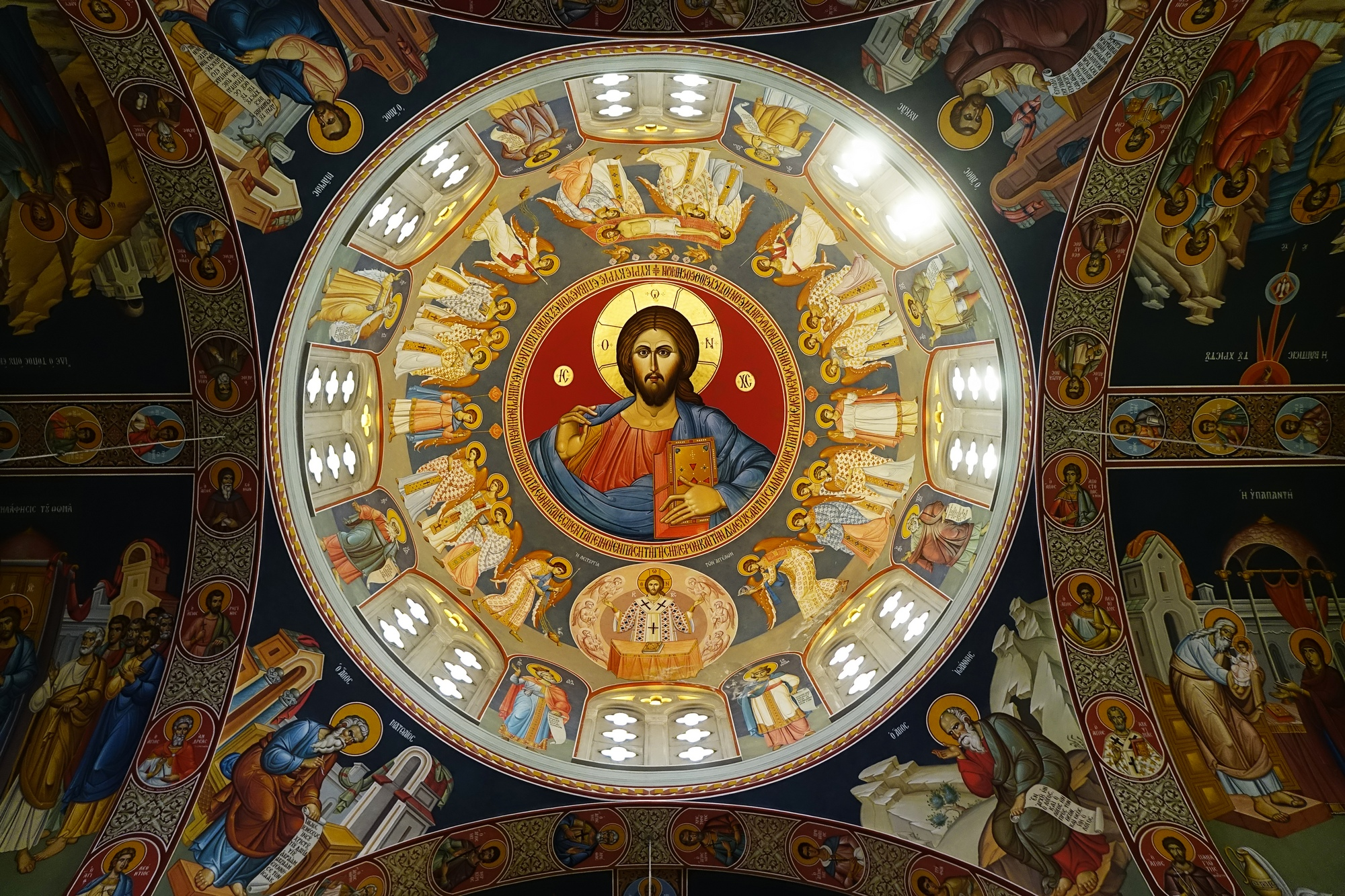 Chriselousa Icon the Mother of God Orthodox church in Athienou
