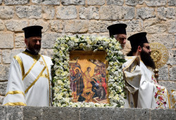 Sheep1389  Paschal Monday in Balamand - Resurrection icon  2019-05-15 10:11:21