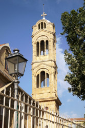 jarek11   The bell-tower of Faneromeni Mother of God Orthodox church in Nicosia
