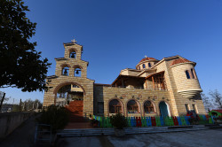 "alik   Orthodox church ""Tabor"" in Tirana"