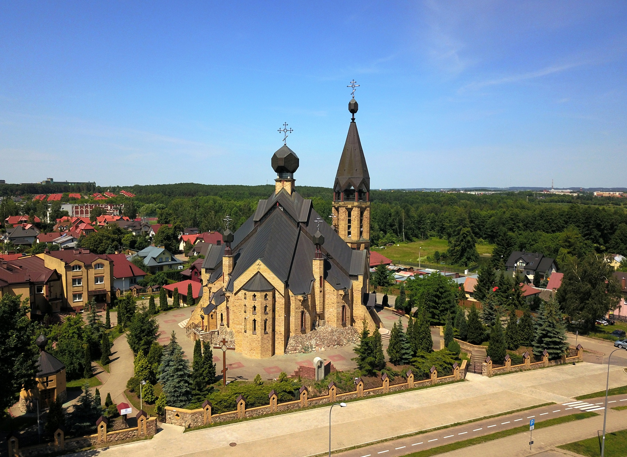 Ressurection church in Białystok