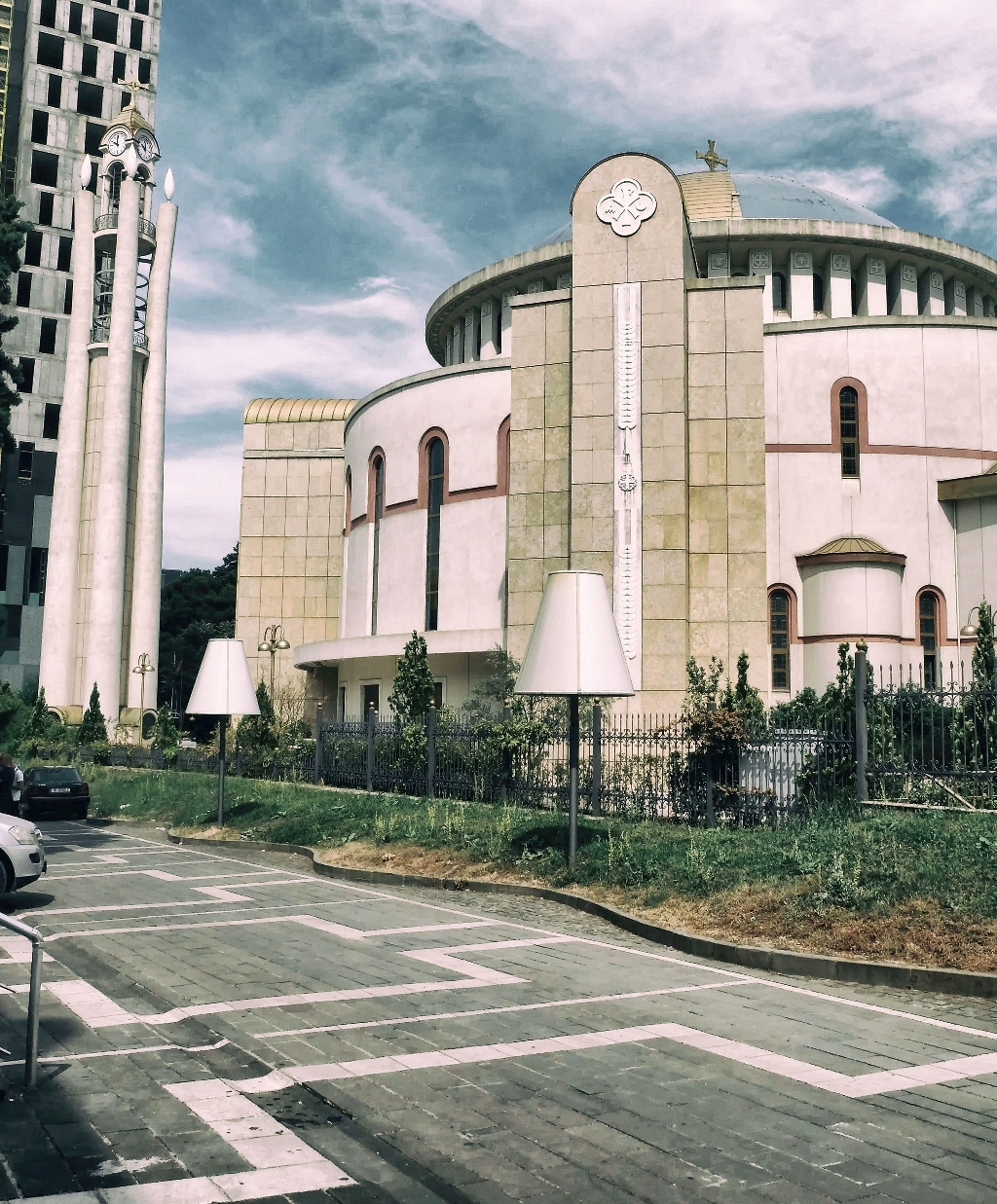 The Resurrection Cathedral in Tirana