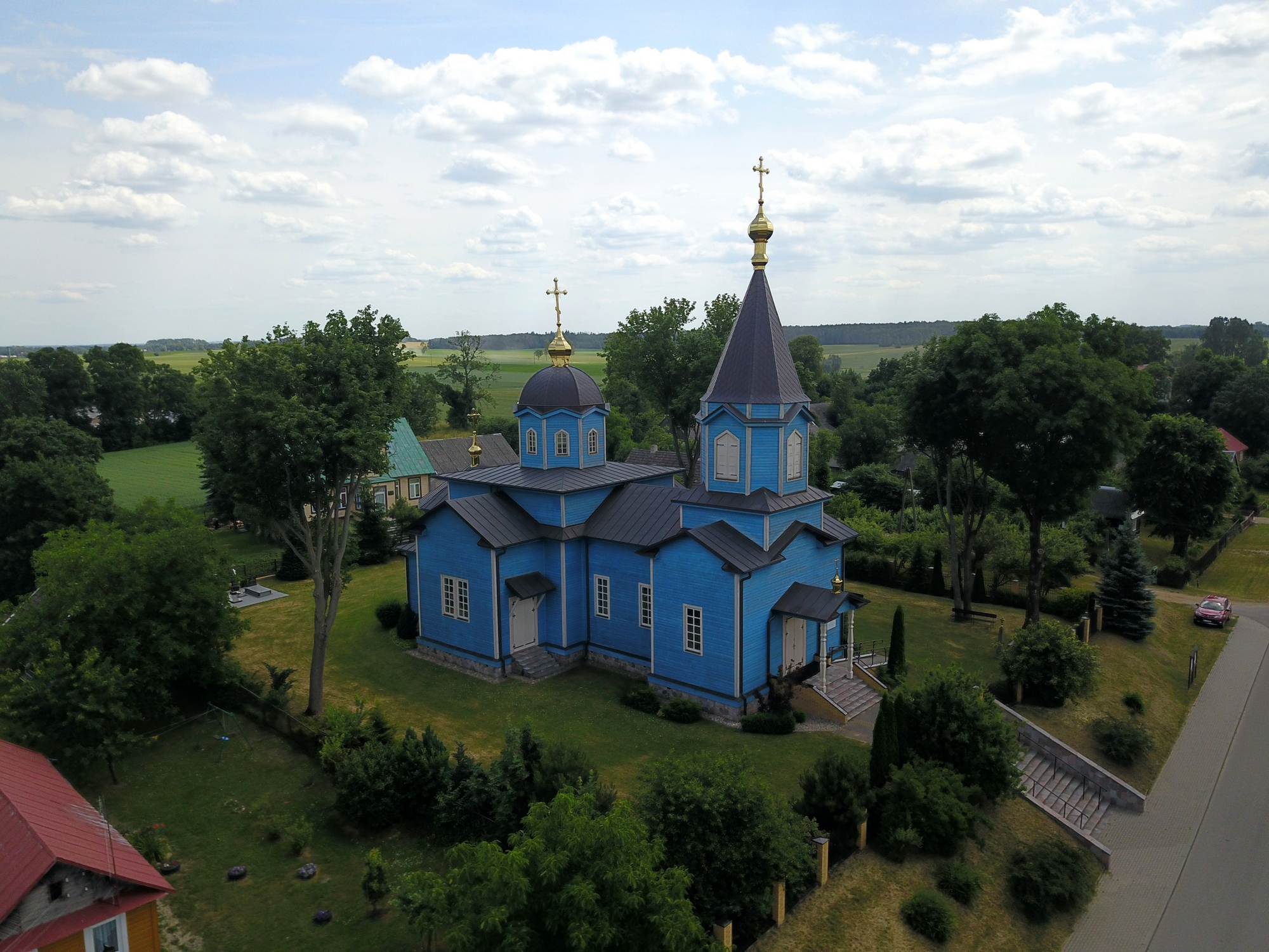 The Orthodox church in Rajsk