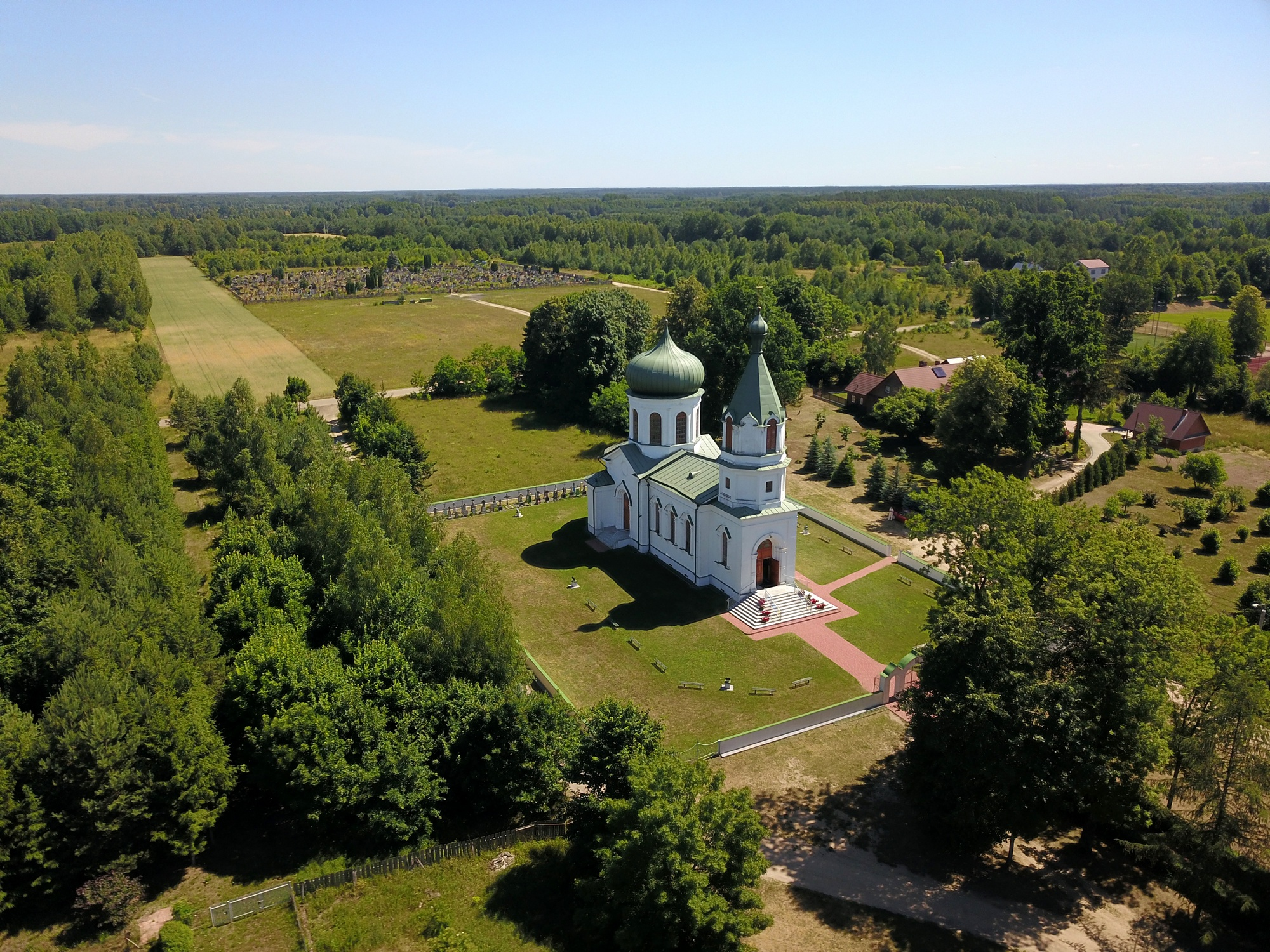 The Orthodox church in Narewka
