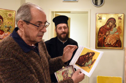 alik   Mosaic master and icongrapher Josif Droboniku