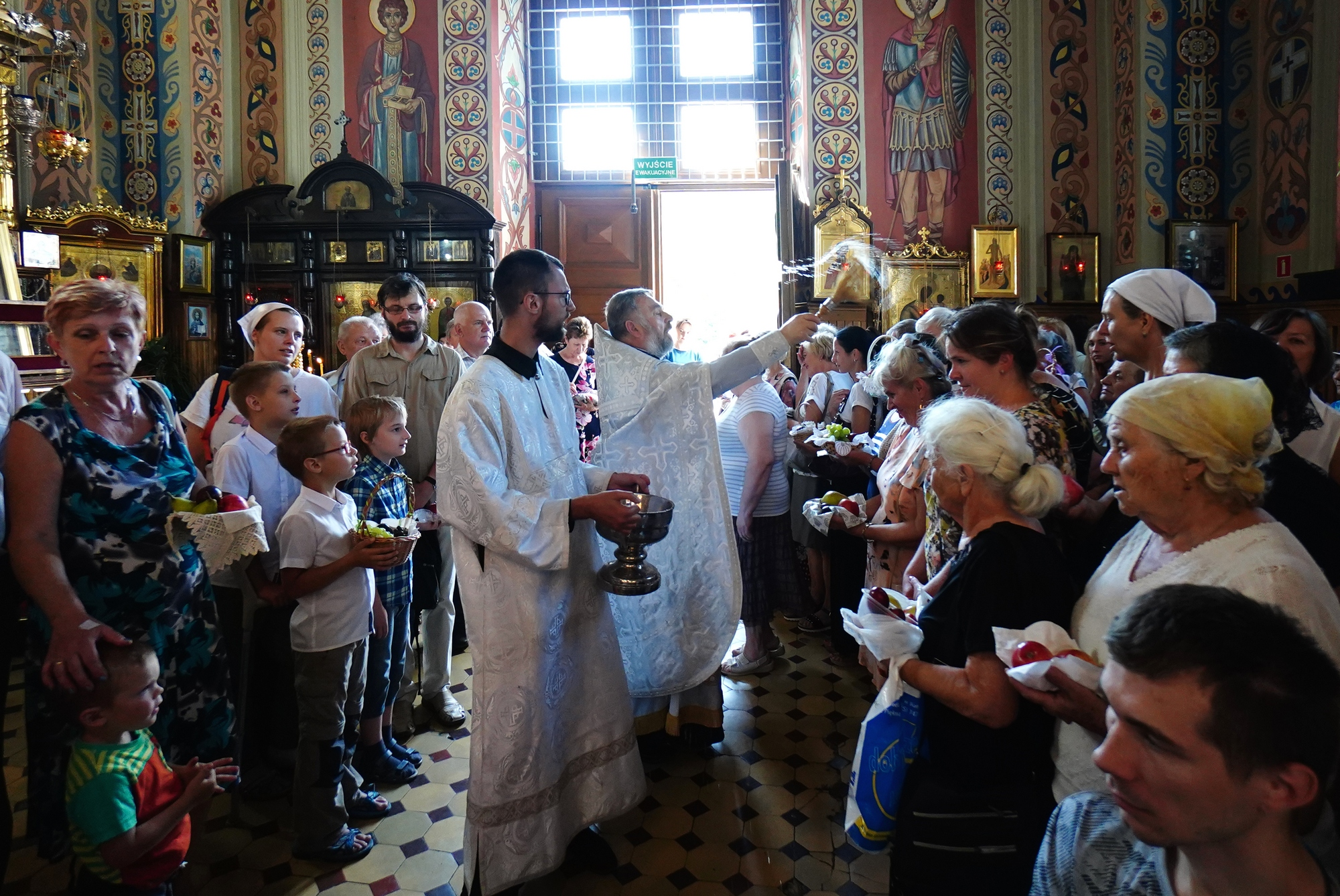 The Feast of Transfiguration in St. Nicholas Cathedral in Białystok