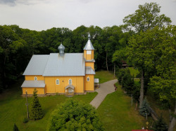 jarek11   St. John the Theologian Orthodox church in Nowoberezowo