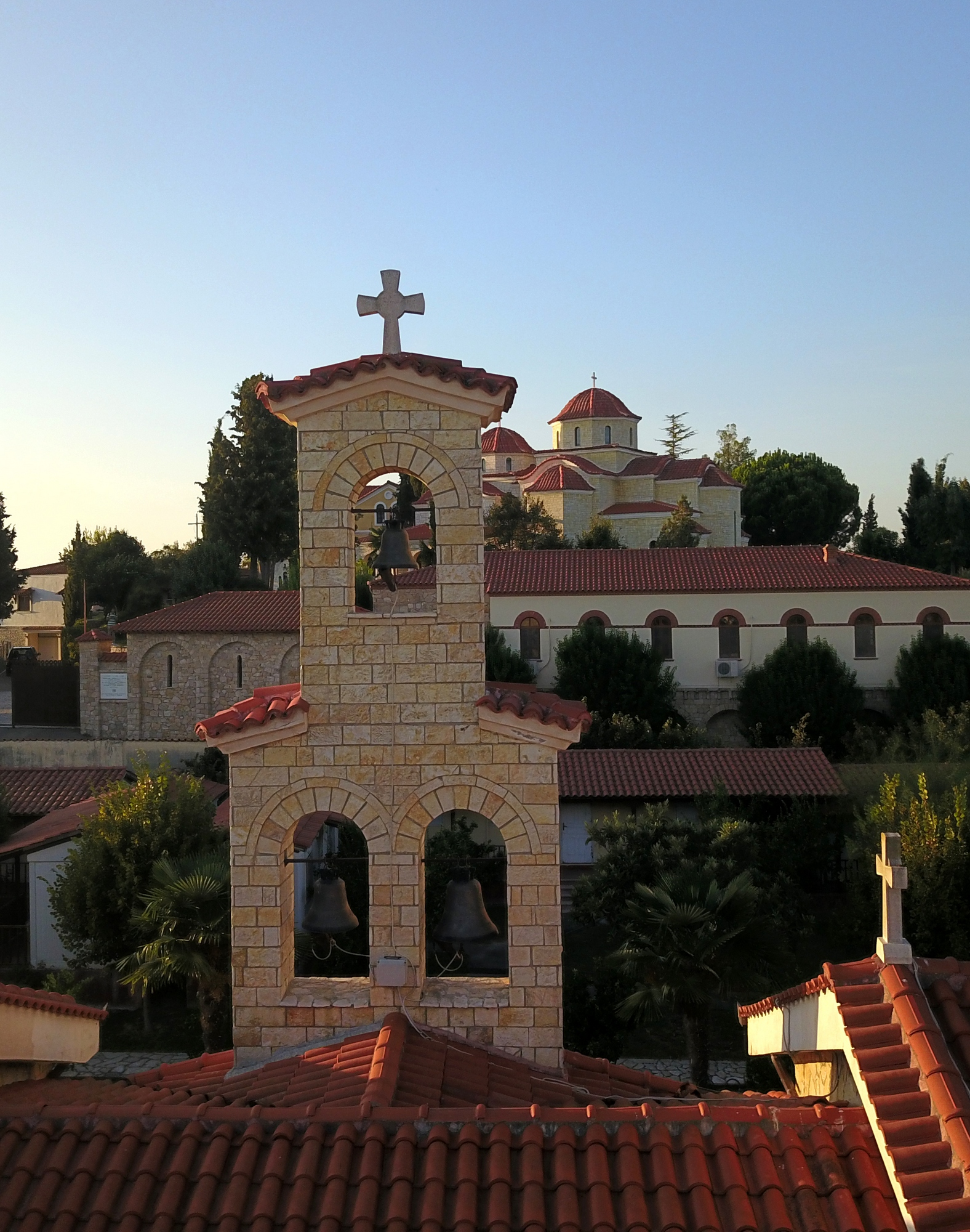 St. Vlash Orthodox monastery close to Durres