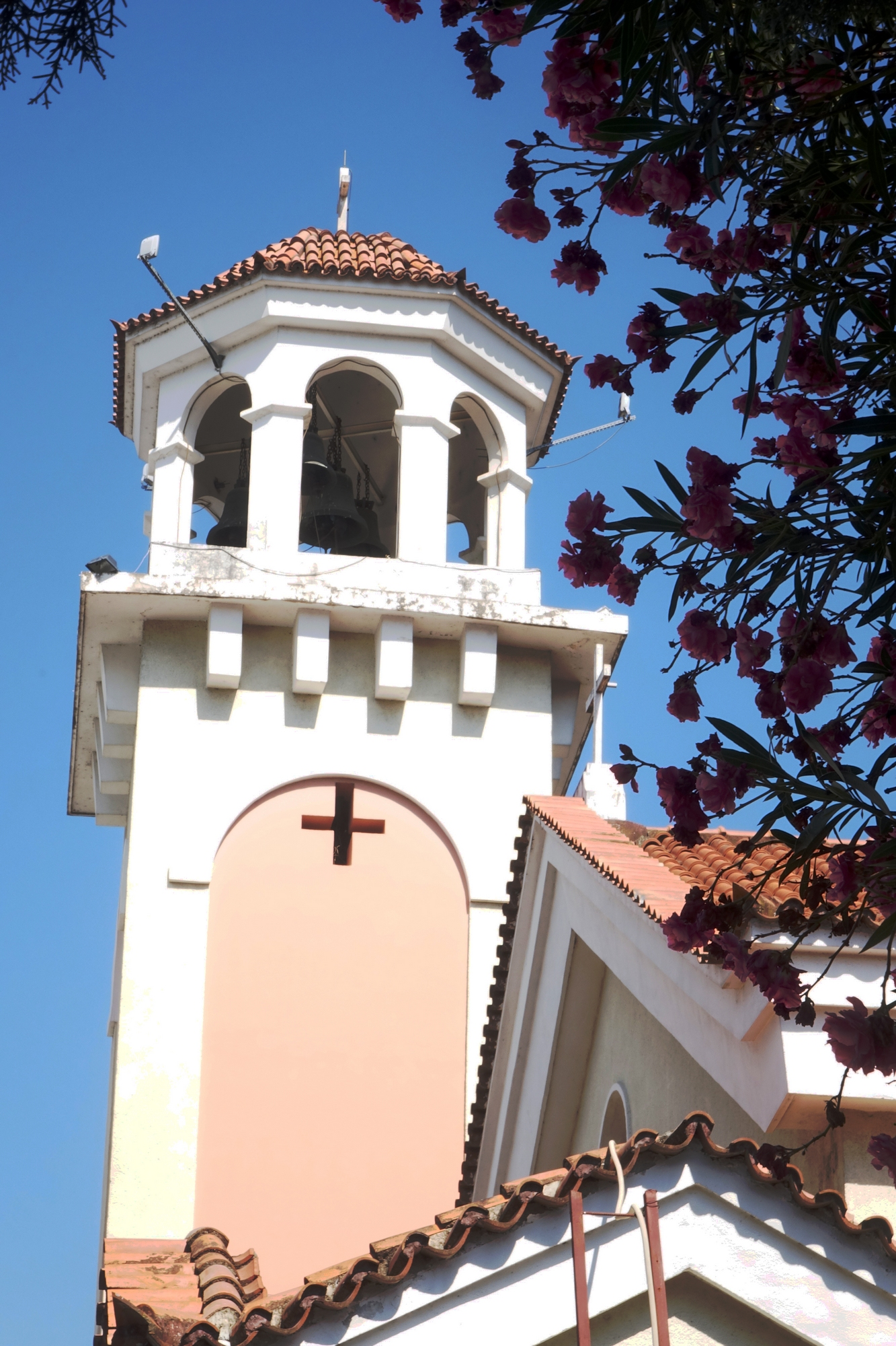 The Old Orthodox cathedral in Tirana